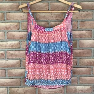 Free People size S-P colorful strappy top